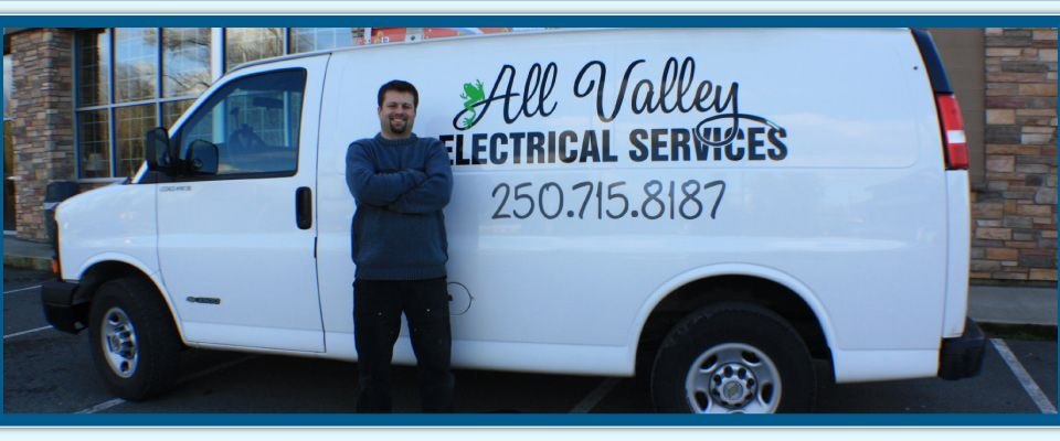 All Valley Electrical Services Van